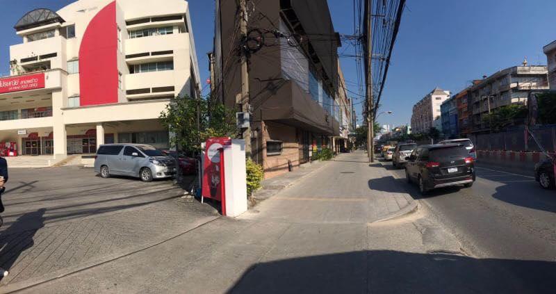 ขายตึกแถว 5คูหา ริมถนน ลาดพร้าว ติด ไปรษณีย์ลาดพร้าว บริษัท เออีซีมาร์เก็ตติ้งโฮม AEC Marketing HOME