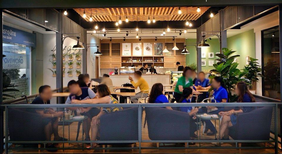 เซ้ง‼️ ร้านกาแฟ ใกล้ธนาคารกรุงไทย @อิมพีเรียลสำโรง ชั้น 2