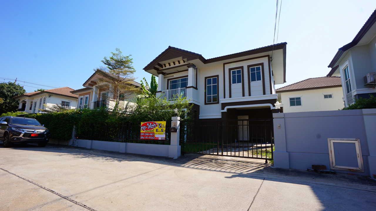 ขาย/เช่า บ้านเดี่ยว ราคาขาย 3990000/ราคาเช่า 20000 ภัสสร19 วัชรพล วงแหวน ขนาด 50 ตรว. 2ชั้น 3ห้องนอน