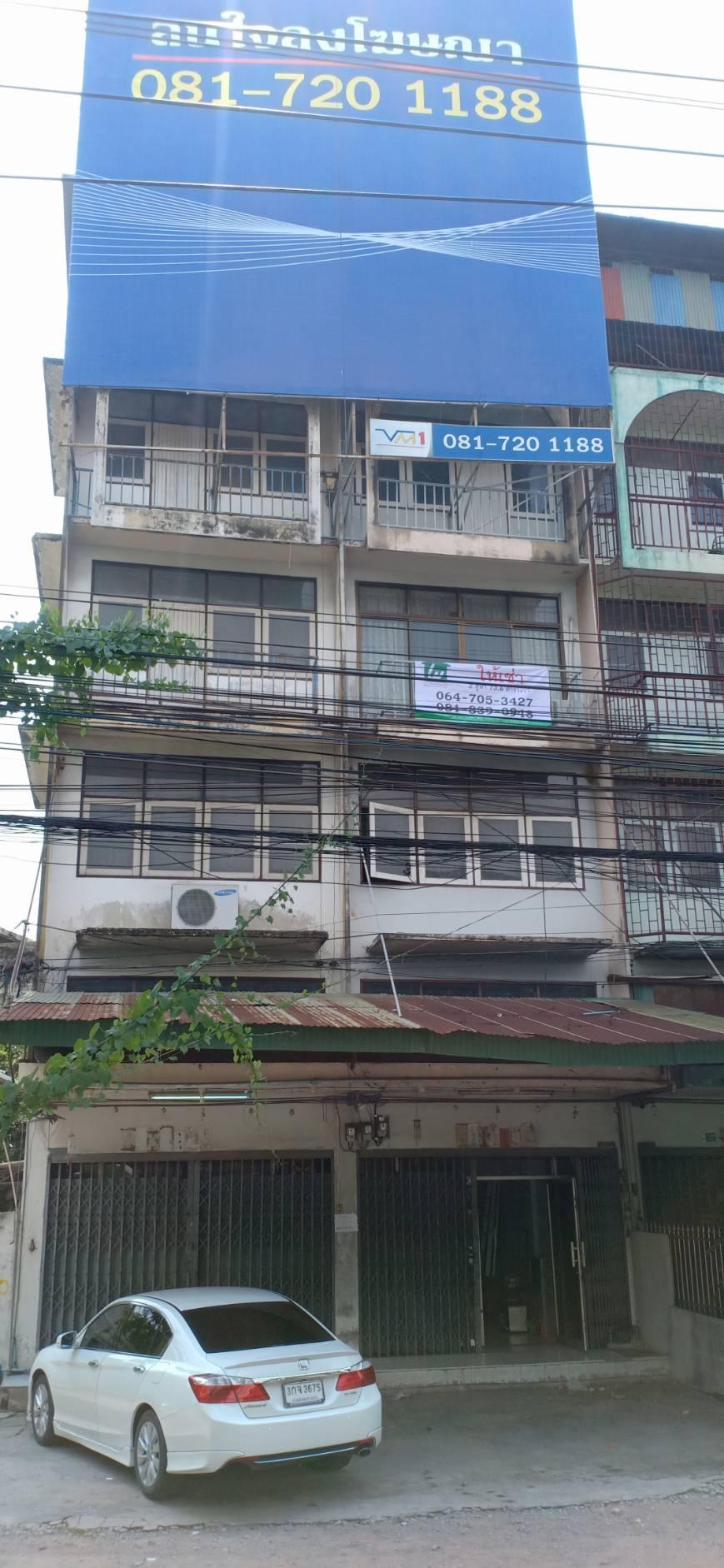 ให้เช่าอาคารพาณิชย์ 4 ชั้น 2 คูหา พร้อมที่จอดรถได้ 6 คัน ถนนพระราม 2 ซอย 1 (ซอยวัดโพธิ์แก้ว)  เหมาะสำหรับทำสำนักงาน ร้านค้า