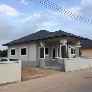 ขายบ้านเดี่ยวสร้างใหม่ อำเภอสันกำแพง เชียงใหม่ ขนาด 55 ตารางวา 3 นอน 2 น้ำ ราคาเพียง 1.89 ล้าน