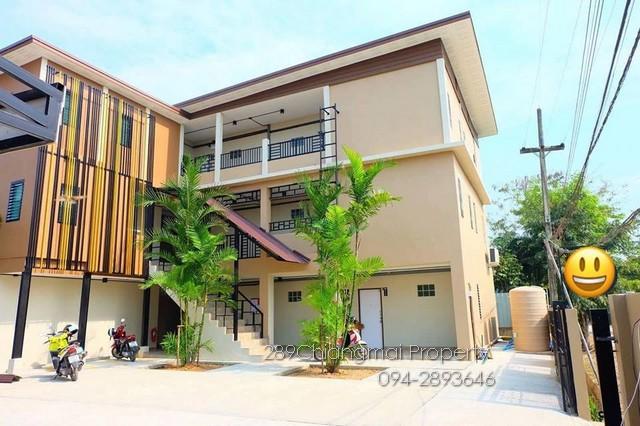 ต้องการขายอพาร์ตเมนท์ใหม่ใกล้มอแม่โจ้ ผู้เช่าเต็มพร้อมบ้านหลังใหม่ 1 หลัง