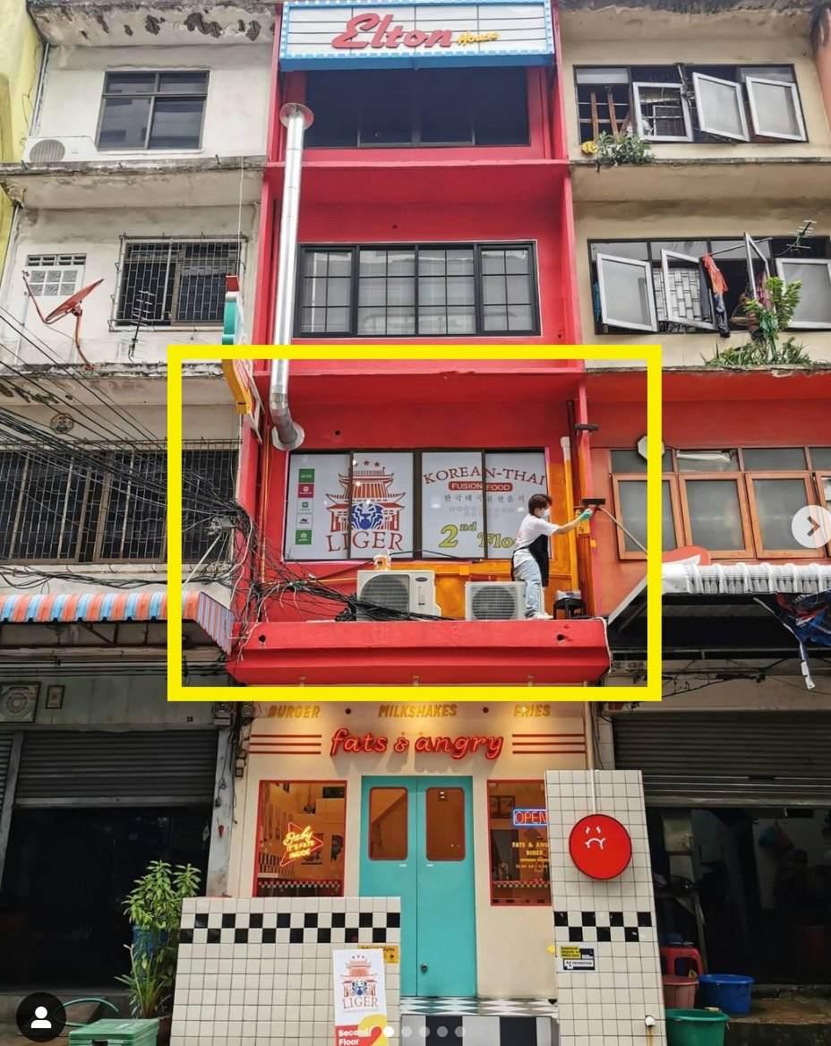 เซ้ง‼️ ร้านอาหาร ทำเลทอง ย่านเจริญกรุง @ตึก Elton House ชั้น2