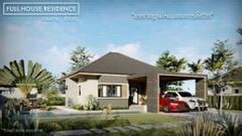 หมู่บ้าน full house residence ตั้งอยู่บ้านสำราญ อ.เมืองขอนแก่น ดาวน์บ้านเพียง 200,000 บาท