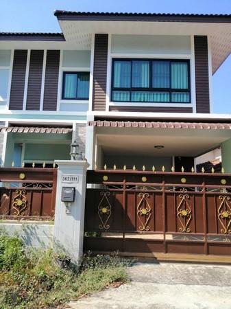 ขายหรือให้เช่า บ้านในหมู่บ้านขันธสีมา  ต.ฟ้าฮ่าม  อ.เมือง  จ.เชียงใหม่ เนื้อที่ 106 ตารางวา