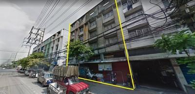 ให้เช่า อาคารพาณิชย์ 4 ชั้น 4 คูหา ติดถนนพระราม 3 ซอย 60 ใกล้ทางด่วน เหมาะสำหรับทำโชว์รูม ออฟฟิศ