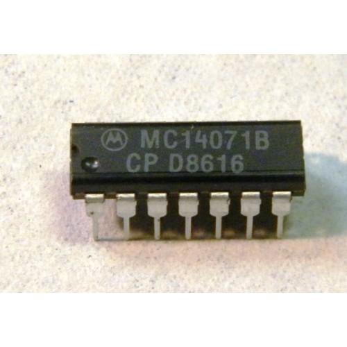 จำหน่าย MC14071BCP และอุปกรณ์อิเล็กทรอนิกส์อื่นๆ (มีสินค้าพร้อมส่ง)