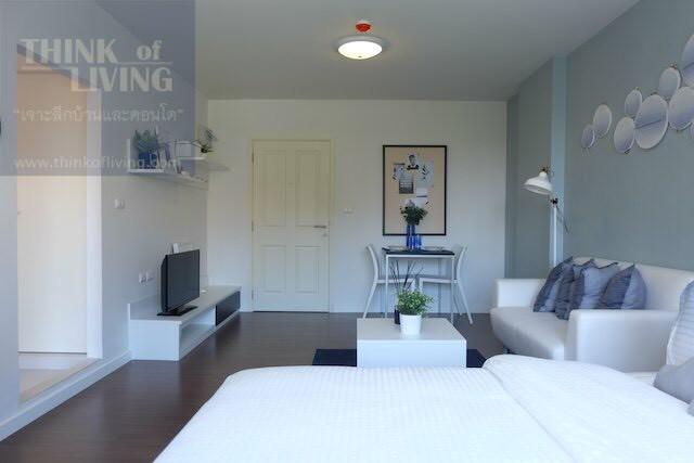 คอนโด บ้านทิวลม ชะอำ ห้อง Studio 30 ตร.ม. 1 ห้องนอน 1 ห้องน้ำ