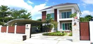บ้านเดี่ยว ถ. เทอดพระเกียรติ (สิรินธร) ซ. 5 อ.บางกรวย จ.นนทบุรี เนื้อที่ 98.40 ตรว.