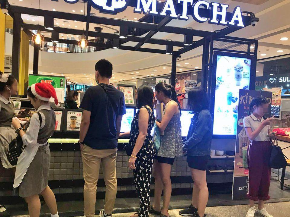 เซ้ง‼️ ร้านนม-ชานมไข่มุก @Central festival Pattaya Beach ชั้น 5