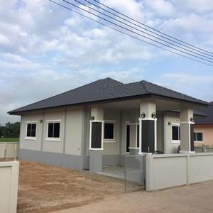 ขายบ้านเดี่ยว อำเภอ สันทราย เชียงใหม่ ใกล้ตลาดสดบ่อหิน ขนาด 75 ตรว 3 นอน 2 น้ำ ราคาเพียง 1.89 ล้าน