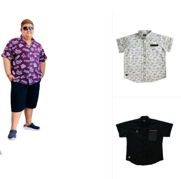 เสื้อผ้าไซต์ใหญ่  Big Size สำหรับผู้ชายอ้วนโดยเฉพาะ