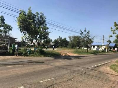 ขาย ที่ดิน1.5ไร่กลางชุมชนหนองสำราญ  หน้าวิทยาลัยเทคโนโลยีราชพฤกษ์ เดชอุดม ใกล้เขต 5 ติดถนน2ด้าน