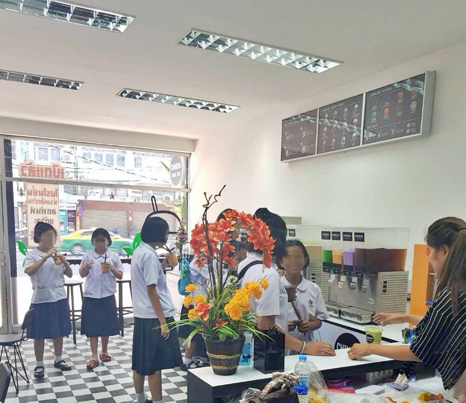เซ้ง!! ร้านชานมไข่มุก ชินชา @แขวงบางพลัด กทม