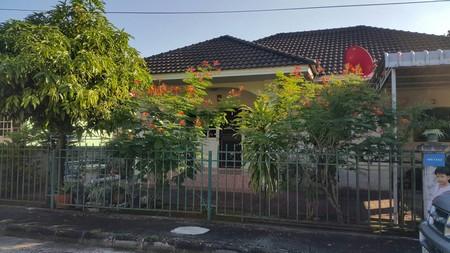 ขายบ้านเดี่ยวชั้นเดี่ยว  อยู่ในโครงการหมู่บ้านโชควารีโฮม  จ.เชียงใหม่ เนื้อที่ 63 ตร.วา
