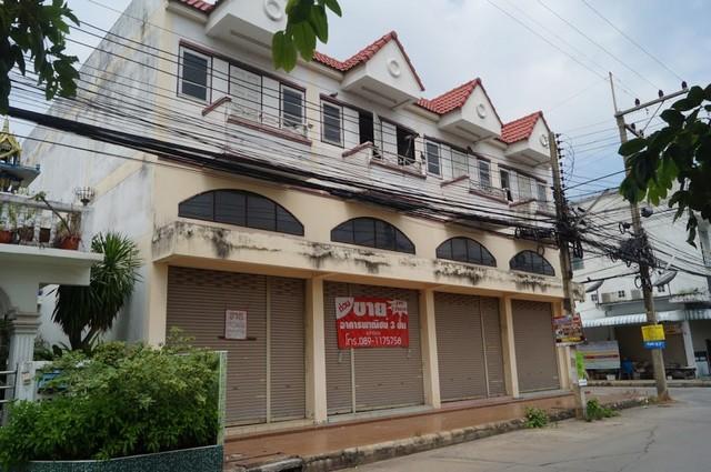 ขายอาคารพาณิชย์ 2.5 ชั้น โครงการหมู่บ้านอยู่สบาย (หินกอง) จ.สระบุรี