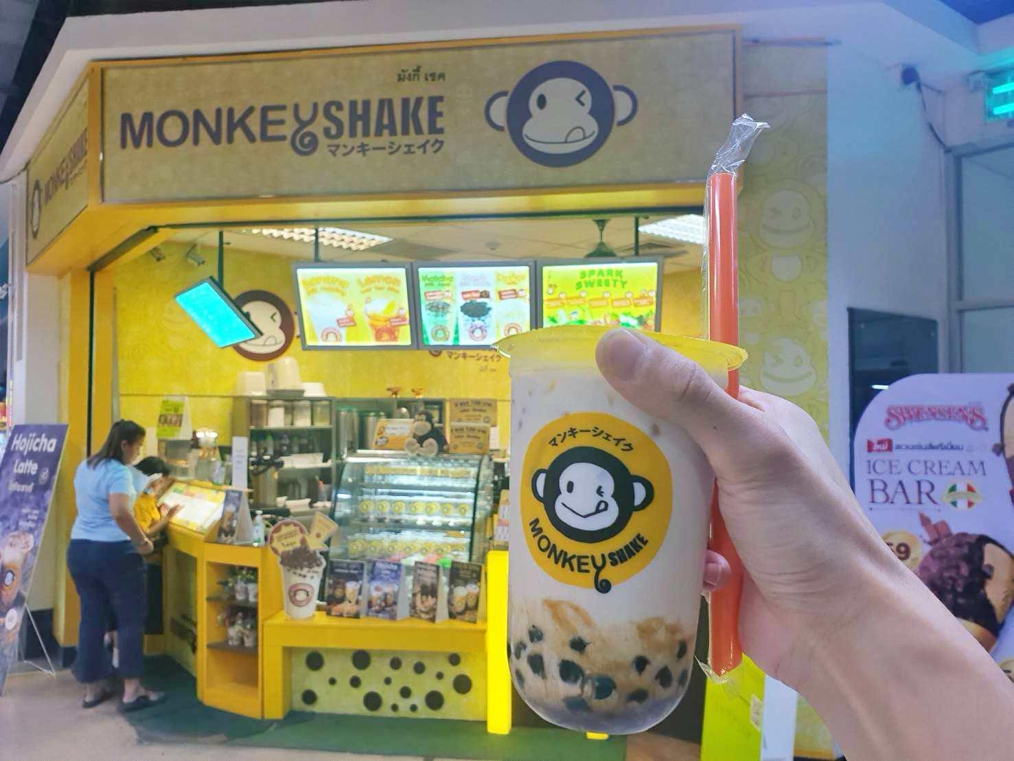 เซ้ง!! ร้านชานมไข่มุก MonkeyShake @โลตัส ประชาชื่น (บางซื่อ) ชั้น 1