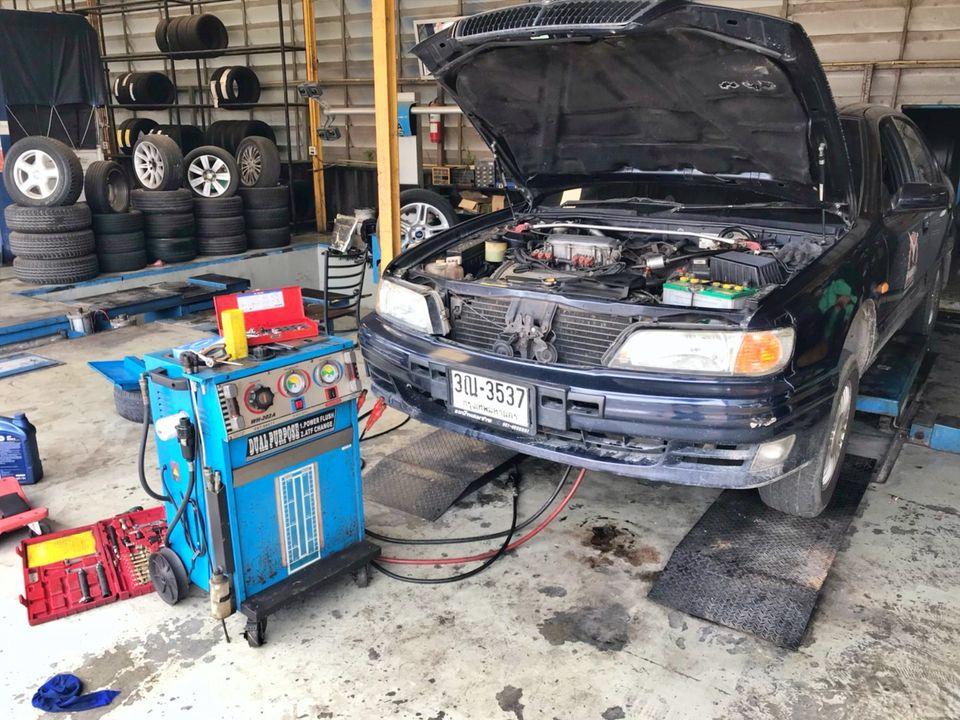 เซ้ง‼️ ศูนย์บริการซ่อมรถยนต์ แถวพุทธมณฑลสาย5 @สมุทรสาคร ต.อ้อมน้อย