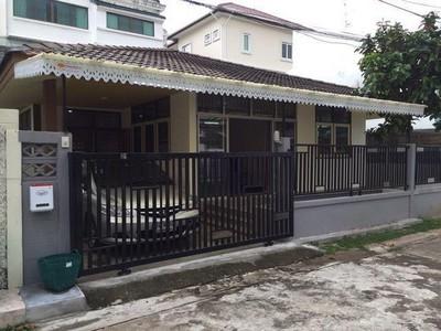 ให้เช่า บ้านเดี่ยว ชั้นเดียว ซ.พัฒนาการ 14 ใกล้ Airport Rail Link รามคำแหง