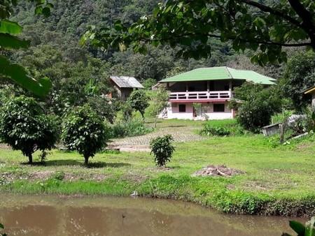 ขายที่ดินพร้อมสิ่งปลูกสร้าง บ้านทุ่งละคร เป็นโฉนด บนเนื้อที่ 25 ไร่ อำเภอแม่แตง จังหวัดเชียงใหม่