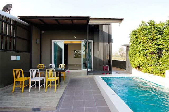 ขายบ้านพักหัวหิน พูลวิลล่า มีสระส่วนตัว 2 ห้องนอน 2 ห้องน้ำ ห่างทะเลเพียง 2.9 กม.
