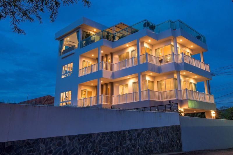 ขาย บ้านพักหรู พลูวิลล่า บ้าน ซีวิว หัวหิน ห่างจากชายหาดหัวหิน ชะอำ เพียง 30 เมตร เท่านั้น