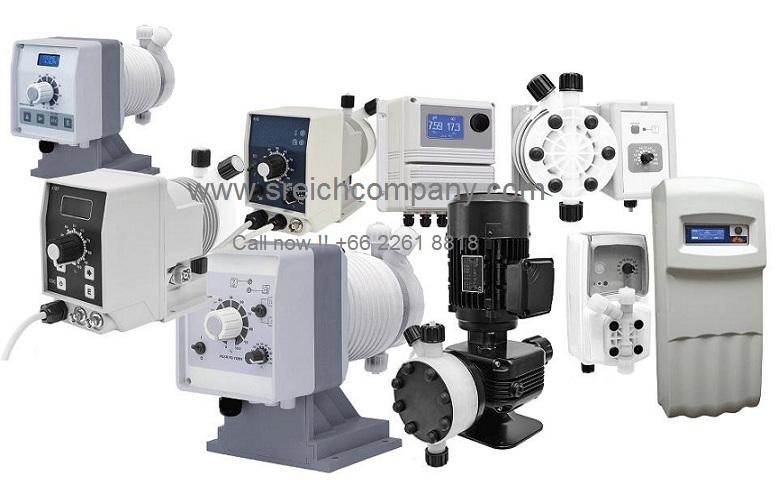 Dosing pump ปั๊มจ่ายคลอรีน ปั๊มปรับสภาพน้ำ ฆ่าเชื้อในน้ำ ปั๊มเติมเคมีเครื่องสำอาง 022618818