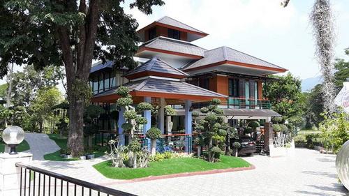 บ้านสวยต่างระดับใหม่หรูสไตล์รีสอร์ทในโครงการภูภัทรา3