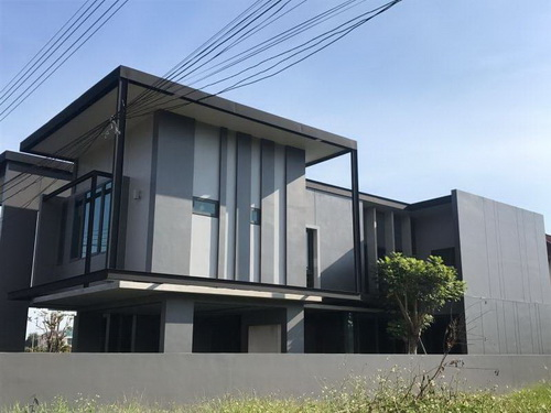 ขายบ้านใหม่50 ตารางวา สวยสไตล์ล็อฟ โซนหางดงใกล้เมือง
