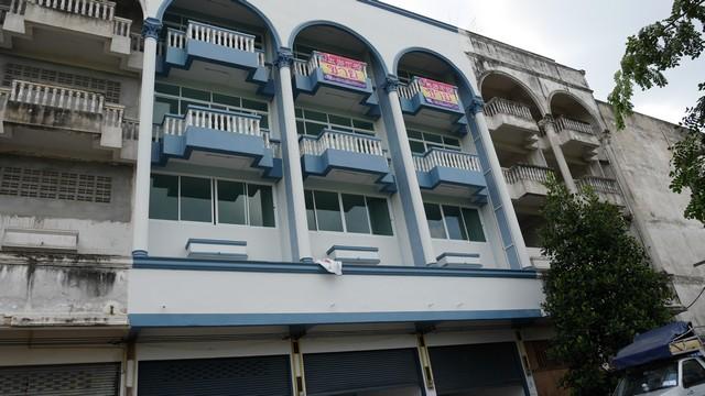 ขายตึกอาคารพาณิชย์ระยอง 3 คูหา ใกล้เซ็นทรัลระยอง รพ ศรีระยอง บ้านดอน ถนนสาย 36