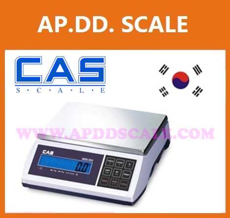 เครื่องชั่งตั้งโต๊ะ 3kg,6kg,15kg,30kg ยี่ห้อ CAS รุ่น ED-H-3
