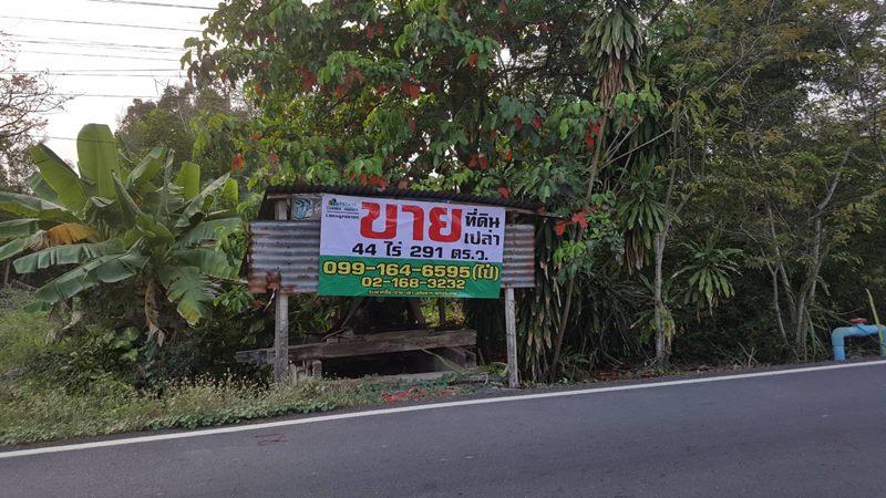 65105 ขาย ที่ดินเปล่า เนื้อที่ 44-2-91 ไร่ หนองเสือ ปทุมธานี