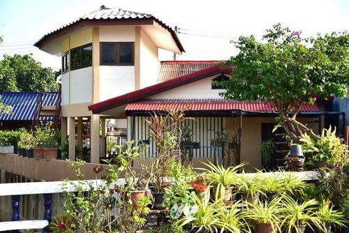 ขายบ้าน เลขที่ 152/8 อ.หางดง เชียงใหม่ พื้นที่ใช้สอย 59 ตรว
