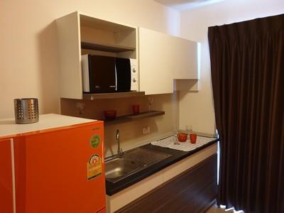 ให้เช่าStudio Supalai Vista Condo แยกติวานนท์ 8000 บาทต่อเดือน 300มจาก MRT ติวานนท์