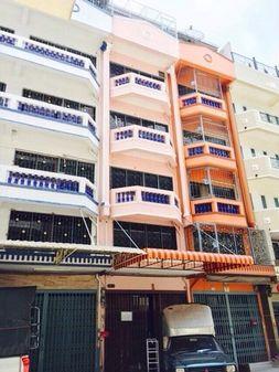 lให้เช่าตึกแถวอาคารพาณิชย์ l ถนนเจริญนคร กว้าง   4 เมตร ลึก15เมตร 6 ชั้น.