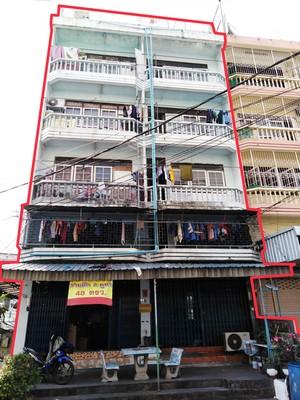 ขาย อาคารพาณิชย์  2 คูหา พร้อมกิจการห้องเช่า ซอยเทียนทะเล 2 บางขุนเทียน