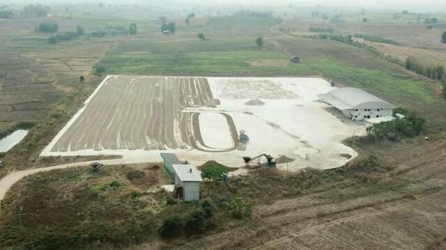 ขายที่ดิน พร้อมสิ่งปลูกสร้างอย่างดี โกดัง สำนักงาน 24-1-93 ไร่ อ.แม่ระมาด จ.ตาก ใกล้โรงเรียนบ้านห้วยบง 1 กม.