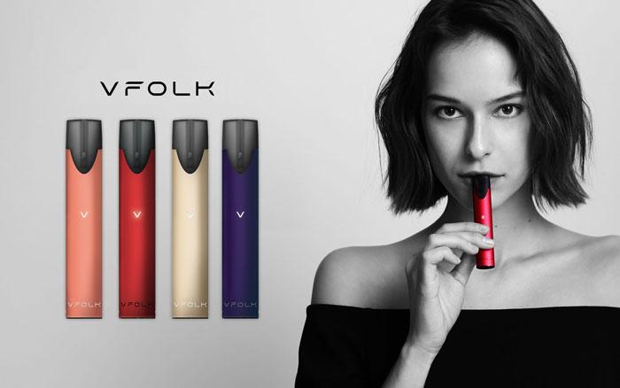 บุหรี่ไฟฟ้า VFOLK ราคาถูก มีคุณภาพ นำเข้าจากต่างประเทศ